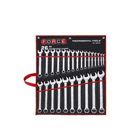 Набор ключей комбинированных 26 шт. 6-32мм Force 5261P