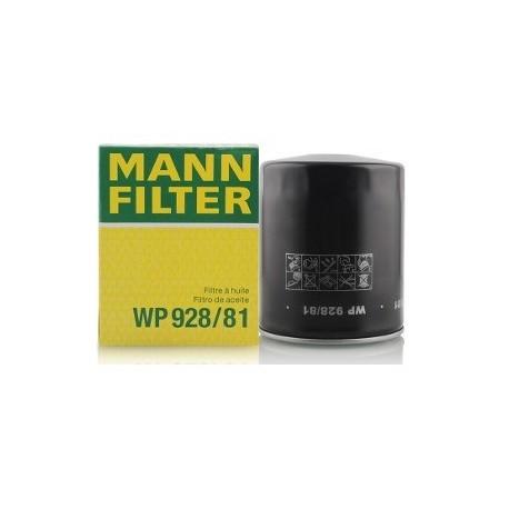 Фильтр масляный Mann WP928/81