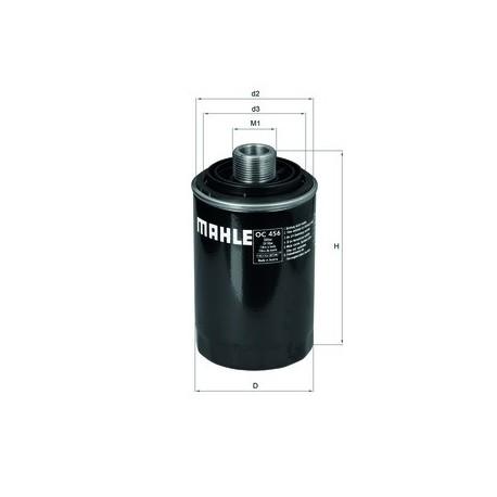 Фильтр маслянный MAHLE ORIGINAL OC456