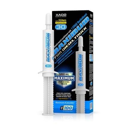ХАДО Атомарный кондиционер металла Maximum for Diesel Truck для гидроусилителя руля и гидравлического оборудования