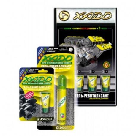 XADO Гель-ревитализант для дизельного двигателя, комплект з тубы 27мл