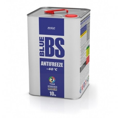 XADO Антифриз для двигателя Antifreeze Blue BS -40⁰С 10кг