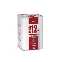 XADO Антифриз для двигателя Antifreeze Red 12++ -40⁰С 10кг