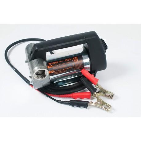 BP-DC65 – насос для перекачки дизельного топлива. Питание 12В/24В. Продуктивность насоса 45/65 л/мин.