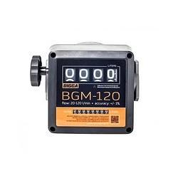 BGM-120 - счетчик учета дизельного топлива, при продуктивности 20-120 л/мин.BIGGA