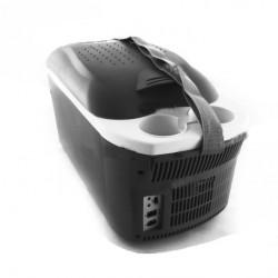 Автохолодильник-сумка 16л (12/24/220V) EC-0123