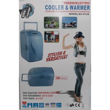 Автохолодильник-сумка 20л (12/24/220V) EC-0122
