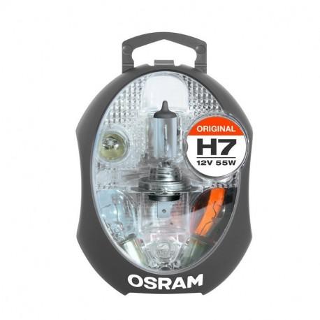 Набор запасных ламп Osram CLKM H7 EURO