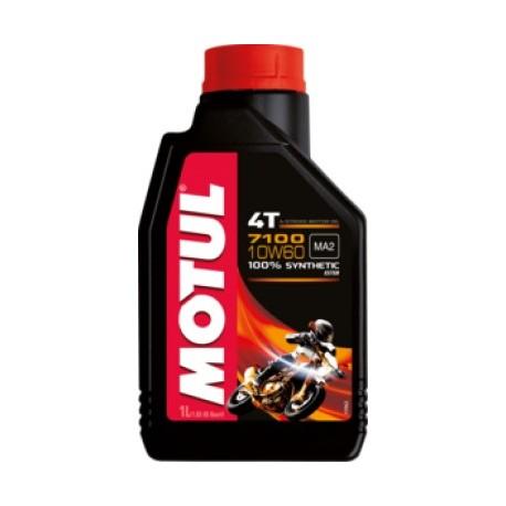Motul 7100 4T 10W-60 ( 1л ) Масло для 4-х тактных двигателей мотоциклов