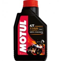 Motul 7100 4T 10W-50 ( 1л ) Масло для 4-х тактных двигателей мотоциклов