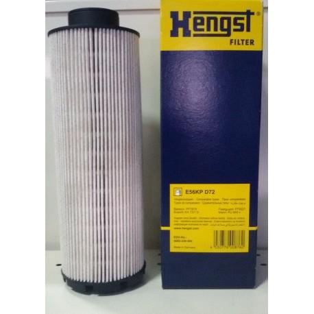 Элемент фильтрующий топлива Hengst E56KP D72
