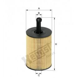 Элемент фильтрующий масла Hengst E19HD83