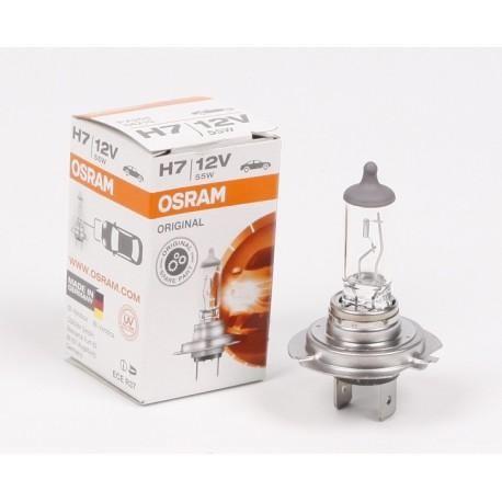 Лампа галогенная H7 12V 55W PX26d Standart Osram 64210