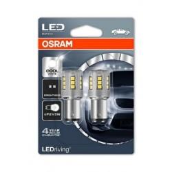 Лампа LED 12V P21/5W BAY15d Osram (1557CW-02B ) белый