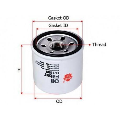 Фильтр масляный SAKURA C-1809