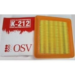 Элемент фильтрующий воздуха OSV K-212 LANOS, SENS