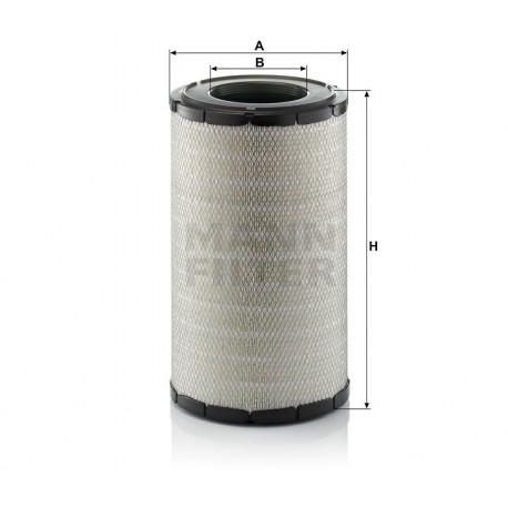 Фильтр воздушный Mann C291290