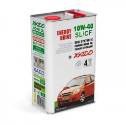 XADO Atomic Oil 10W-40 SL/CF 4 л. ХА 20244