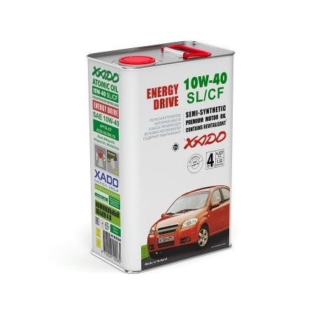XADO Atomic Oil 10W-40 SL/CF 4 л.