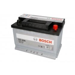 Аккумулятор залитый 6СТ-70АзЕ Bosch S3 Silver (640А) (R+)