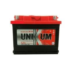 Аккумулятор залитый 6СТ-60 UNIKUM (480А) (R+)