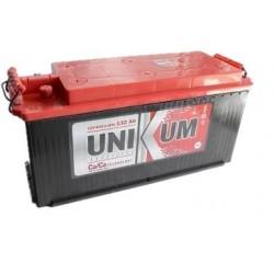 Аккумулятор залитый 6СТ-132 Тип3 (плоский конус) UNIKUM Evro (820А)