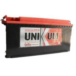 Аккумулятор залитый 6СТ-132 Тип4 (плоский конус) UNIKUM (820А)