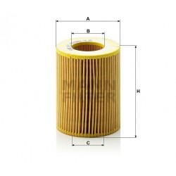 Фильтр масляный двигателя HU925/4X (пр-во MANN)