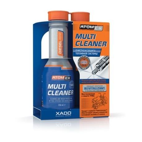 Multi Cleaner (Diesel) - очиститель топливной системы для дизельного двигателя 250 мл.
