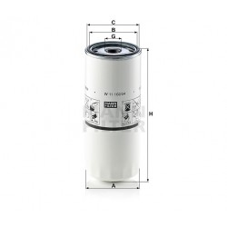 Фильтр масляный W11102/34 (пр-во MANN)
