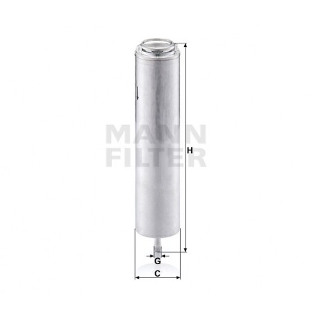 Фильтр топливный WK5002X (пр-во MANN)
