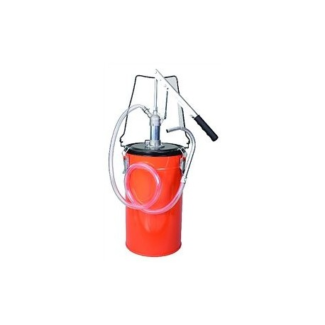 Нагнетатель масла рычажный бочк.типа с пласт.шлангом Groz OLP/12 44180