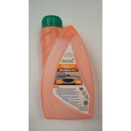 Антифриз Dannev Antifreeze Oransje 12+ -40С 1,1кг