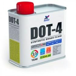 ХАДО Тормозная жидкость DOT-4 Жестяная банка 0,5 л