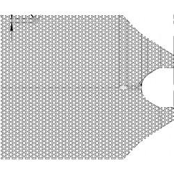 6106150026 Сетка воронки бункера плоская маталлическая