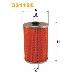 Фильтрующий элемент топливного фильтра 33112E (FN PM808) (PM808/T) WIX