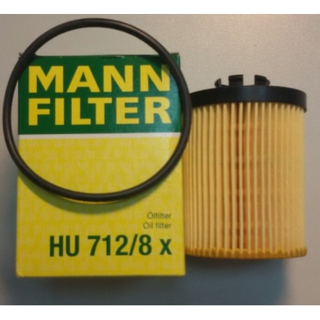 Фильтр масляный Mann HU 712/8 x