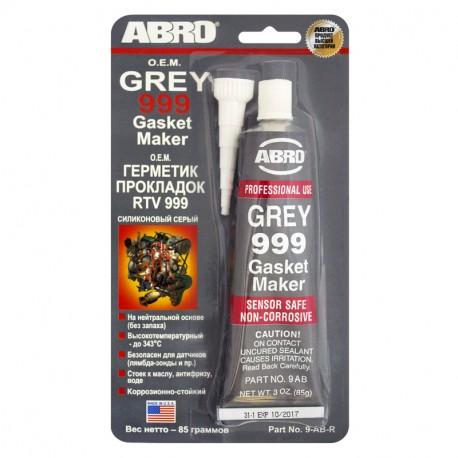 ABRO 9-AB-R Герметик двигателя ABRO серый силиконовый 85 г