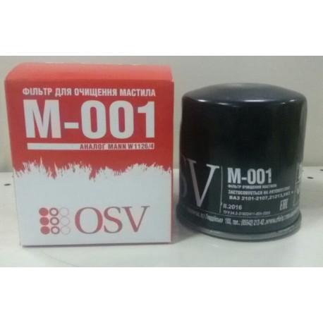 Фильтр маслянный 2101-1012005 OSV
