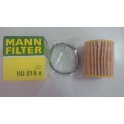 Фильтр масляный Mann HU818x