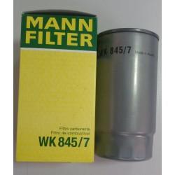 Фильтр топливный Mann WK845/7